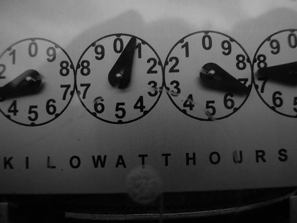 how much does it cost to move an electric meter
