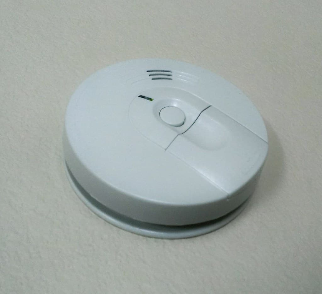 how to install a wired smoke alarm