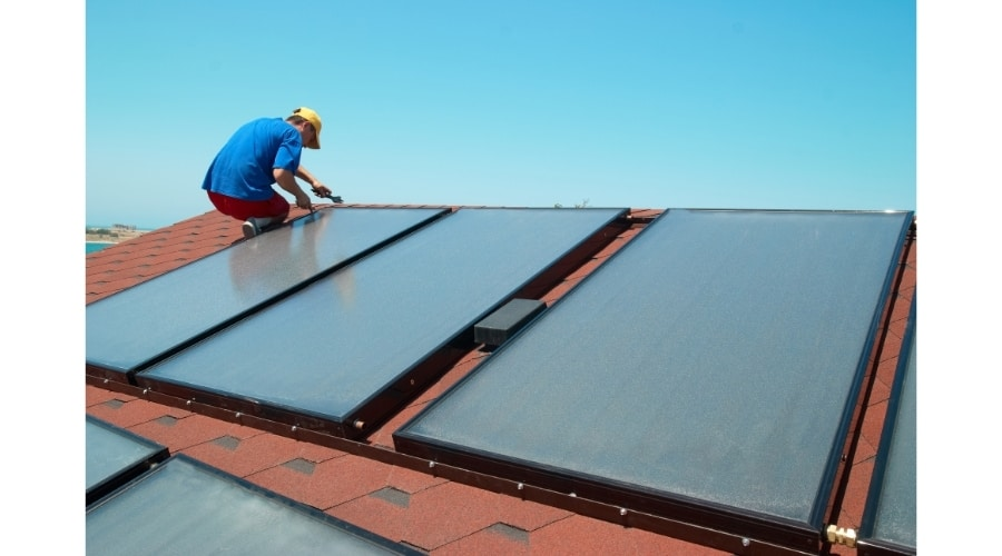 hot water solar system cost